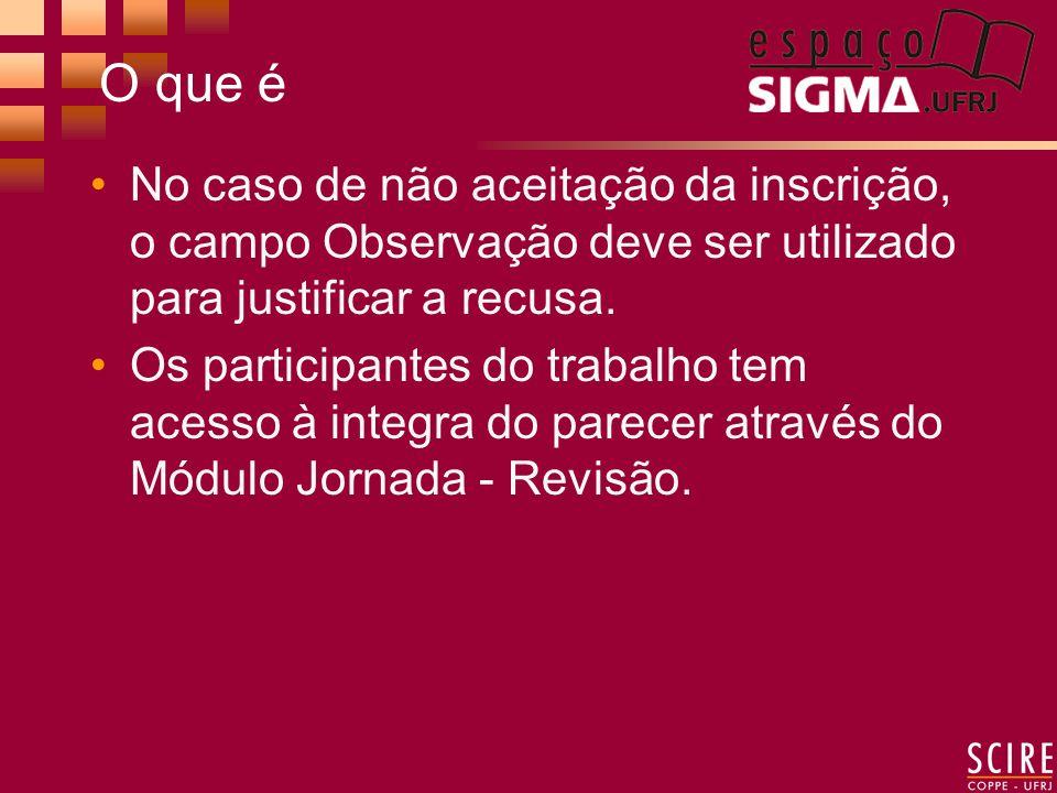 Como Funciona Realizar LOGIN para ter acesso ao SIGMA.Documenta No Menu Principal do SIGMA.Documenta selecionar o Módulo Jornada 2006 - Análise - Pareceristas.