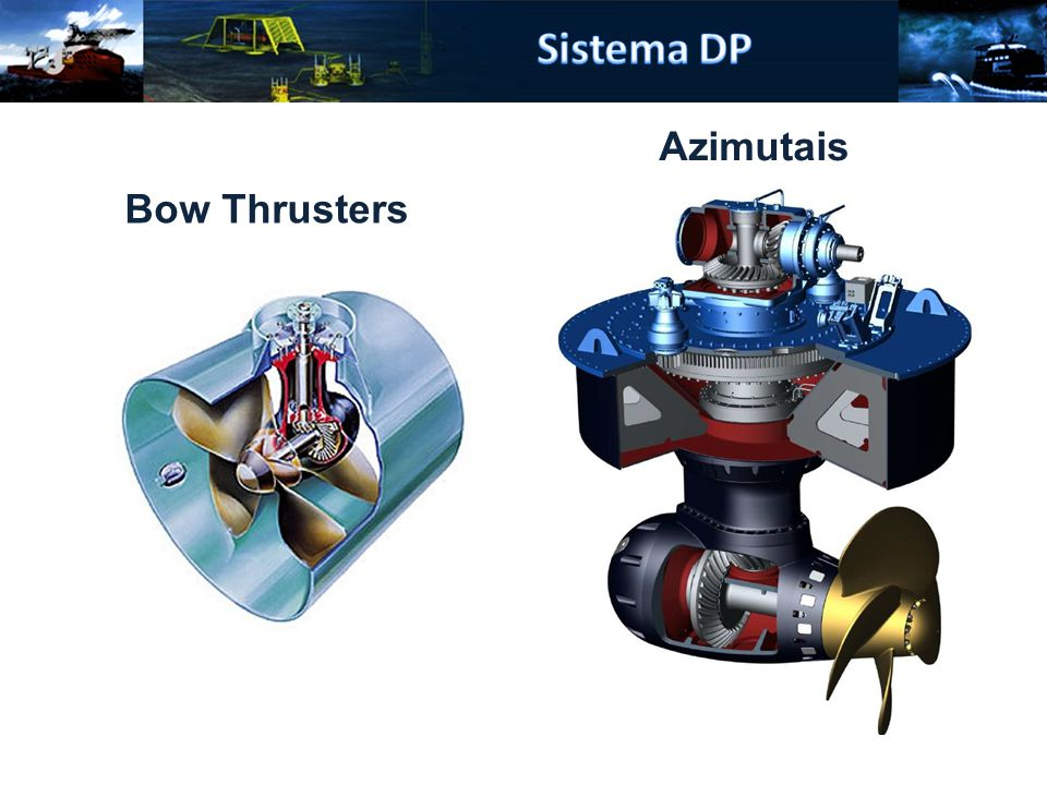 Bow Thrusters Azimutais