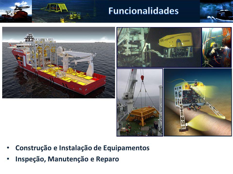 Construção e Instalação de Equipamentos Inspeção, Manutenção e Reparo