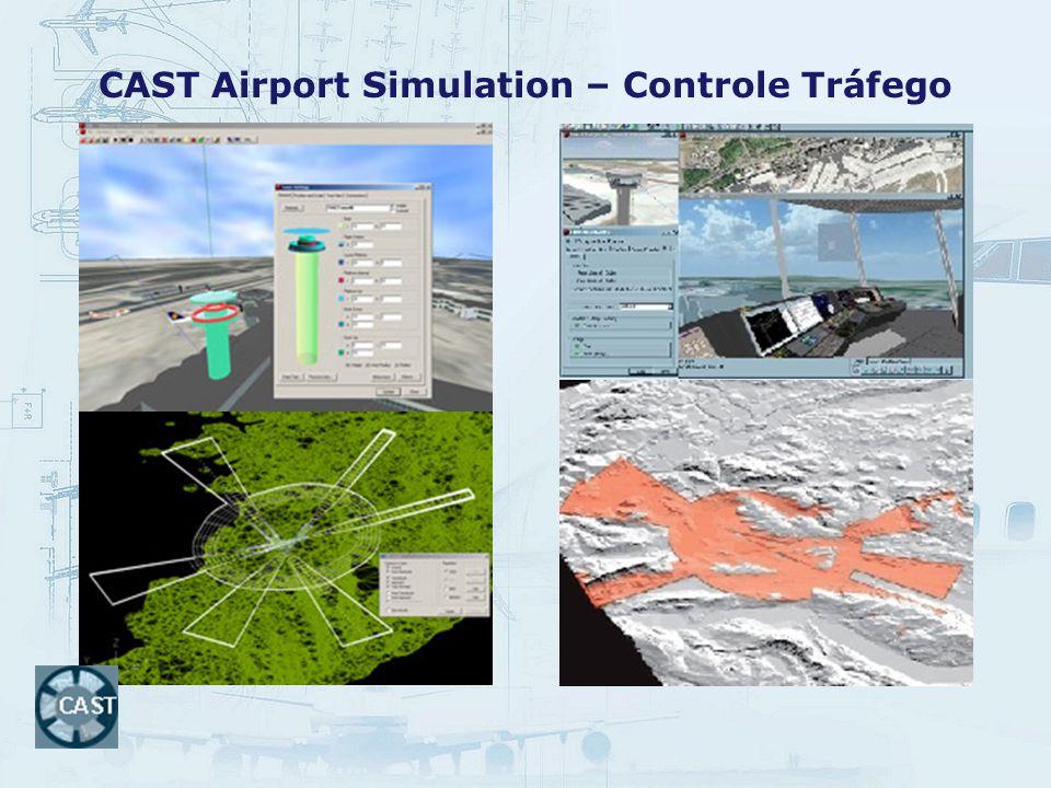 CAST Airport Simulation – Controle Tráfego