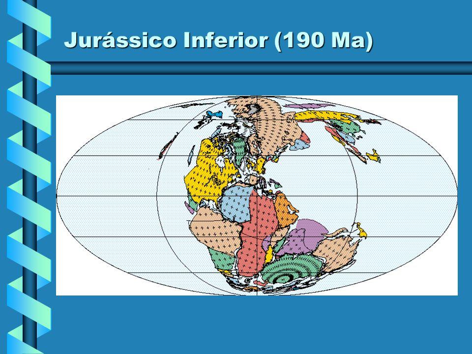 Jurássico Inferior (200 Ma)