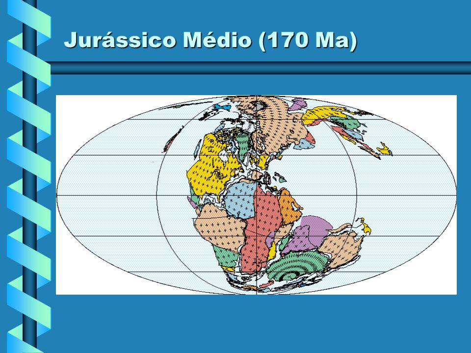 Jurássico Médio (180 Ma)