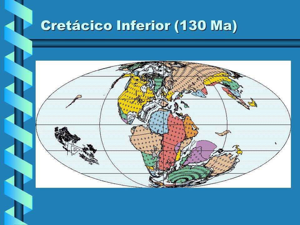Cretácico Inferior (140 Ma)