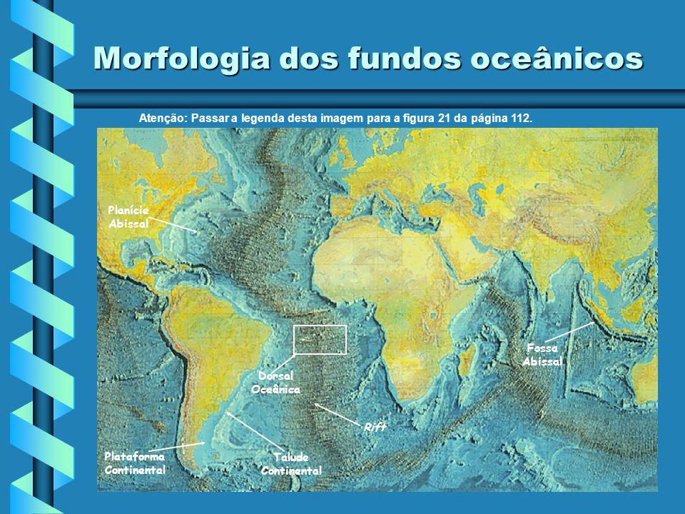 Geodinâmica Interna Manto Célula de convecção Rift Em 1962, o geólogo americano Hess propôs a teoria da expansão dos fundos oceânicos: nas dorsais oce