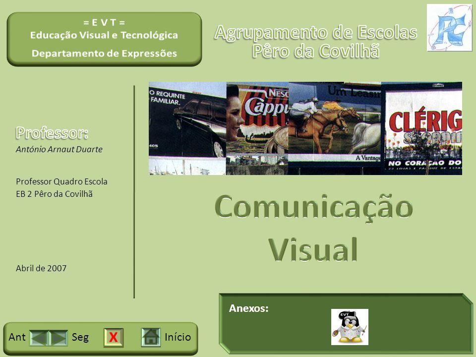 Anexos: InícioSegAnt António Arnaut Duarte Professor Quadro Escola EB 2 Pêro da Covilhã Abril de 2007