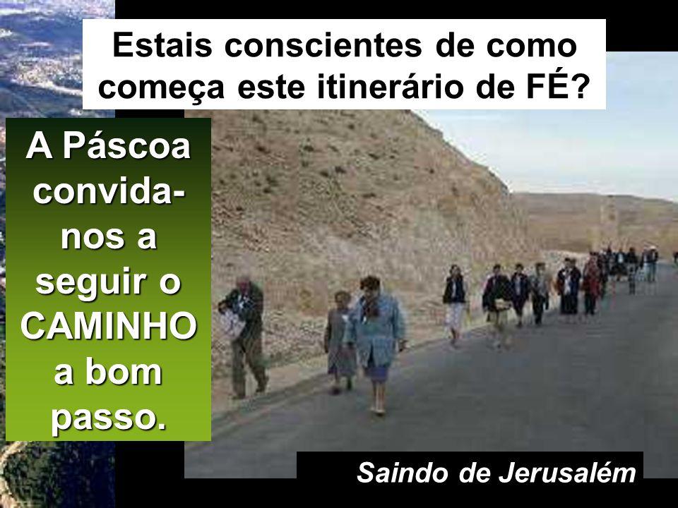 Lc 24,13-35 Dois dos discípulos de Jesus iam a caminho duma povoação chamada Emaús, que ficava a duas léguas de Jerusalém. Conversavam entre si sobre