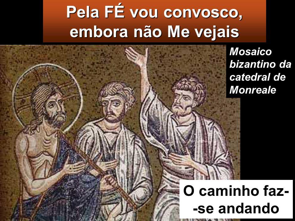 Enquanto falavam e discutiam, Jesus aproximou- Se deles e pôs-Se com eles a caminho. Mas os seus olhos estavam impedidos de O reconhecerem.
