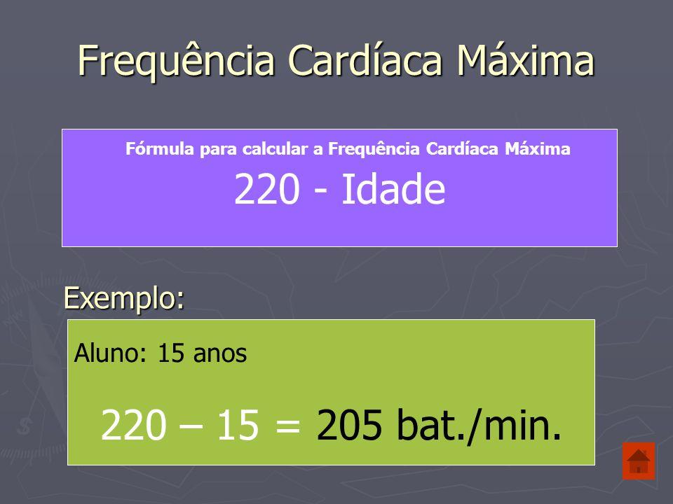 Frequência Cardíaca de Esforço 100 % 80 % 70 % Frequência Cardíaca Máxima Frequência Cardíaca Esforço Intervalo de esforço para desenvolver a Capacidade de Resistência 50 % Intensidade de Esforço para perder Peso Frequência Cardíaca de Repouso