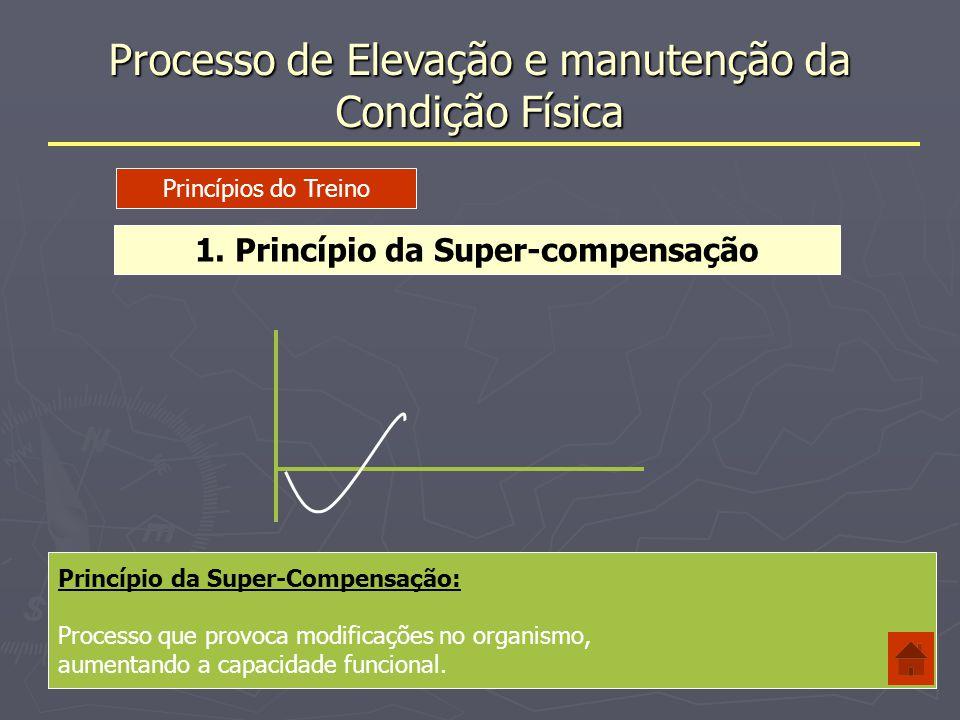 Processo de Elevação e manutenção da Condição Física 2.