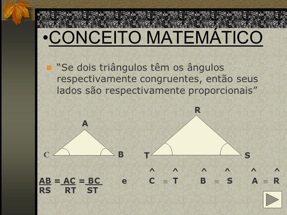 RACIOCÍNIO MATEMÁTICO DE TALES NA PIRÂMIDE Altura da pirâmide (H) Altura da estaca (2 m ) 115 m base 250 m sombra 5 m sombra H = 115 + 250 5 H = 365 x