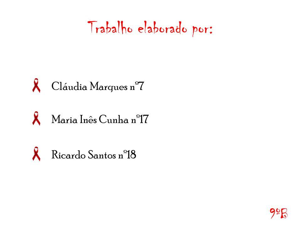 Trabalho elaborado por: Cláudia Marques nº7 Maria Inês Cunha nº17 Ricardo Santos nº18 9ºB