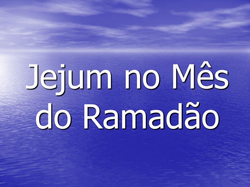 Jejum no Mês do Ramadão