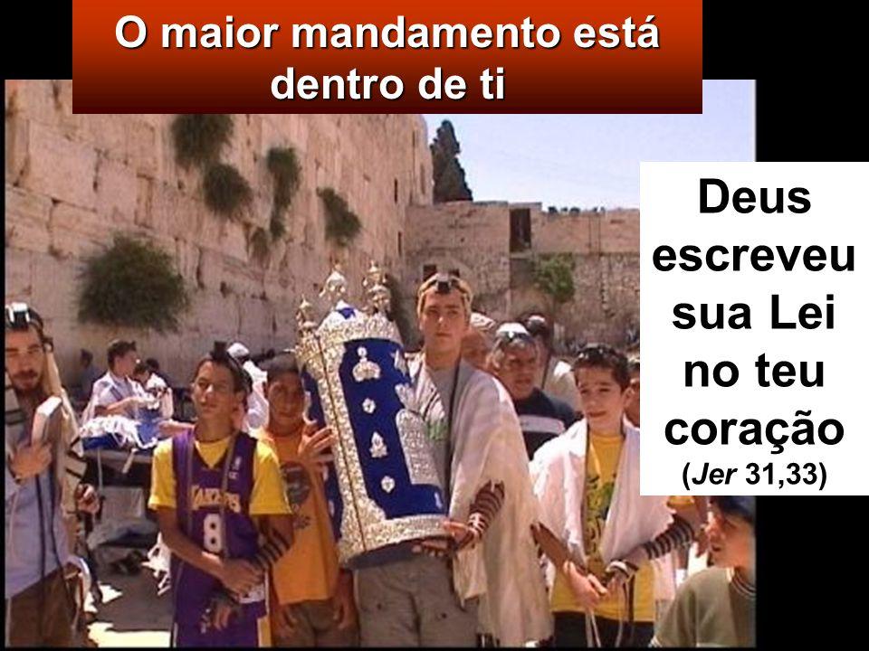 «Mestre, qual é o maior mandamento da Lei »