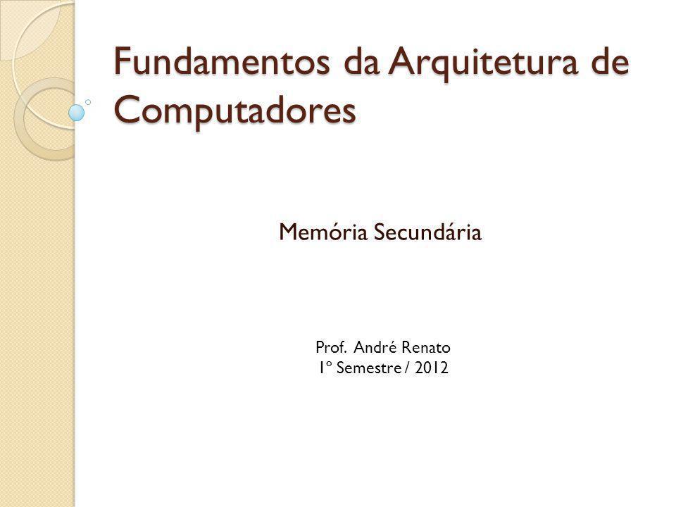 Fundamentos da Arquitetura de Computadores Memória Secundária Prof. André Renato 1º Semestre / 2012