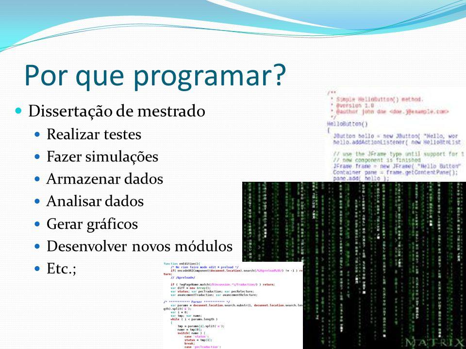 Por que programar.
