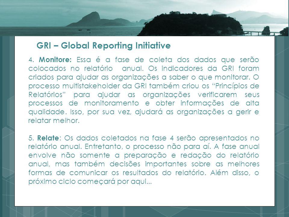 Os relatórios foram criados nos anos 2000 com o objetivo de criara uma linguagem comum para as organizações conhecerem seu desempenho socioambiental e que estes pudessem ser comparados.