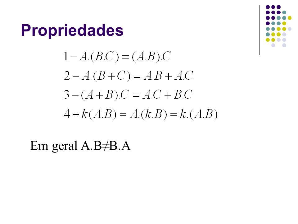 Propriedades Em geral A.BB.A