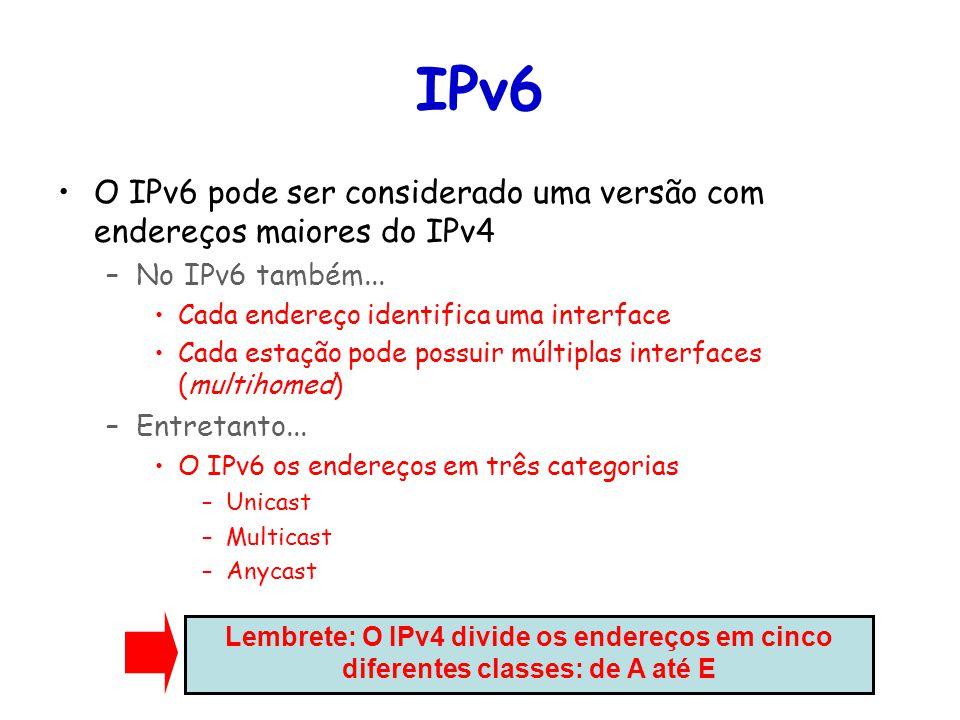 Tópicos Especiais em Roteamento na Internet – TET/UFF Professor Miguel Campista Tunelamento IPv4 sobre IPv6 (Figura: Kurose)
