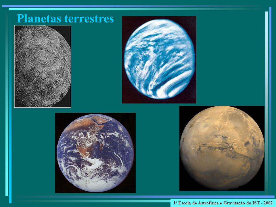 Planetas terrestres 1 a Escola de Astrofísica e Gravitação do IST - 2002