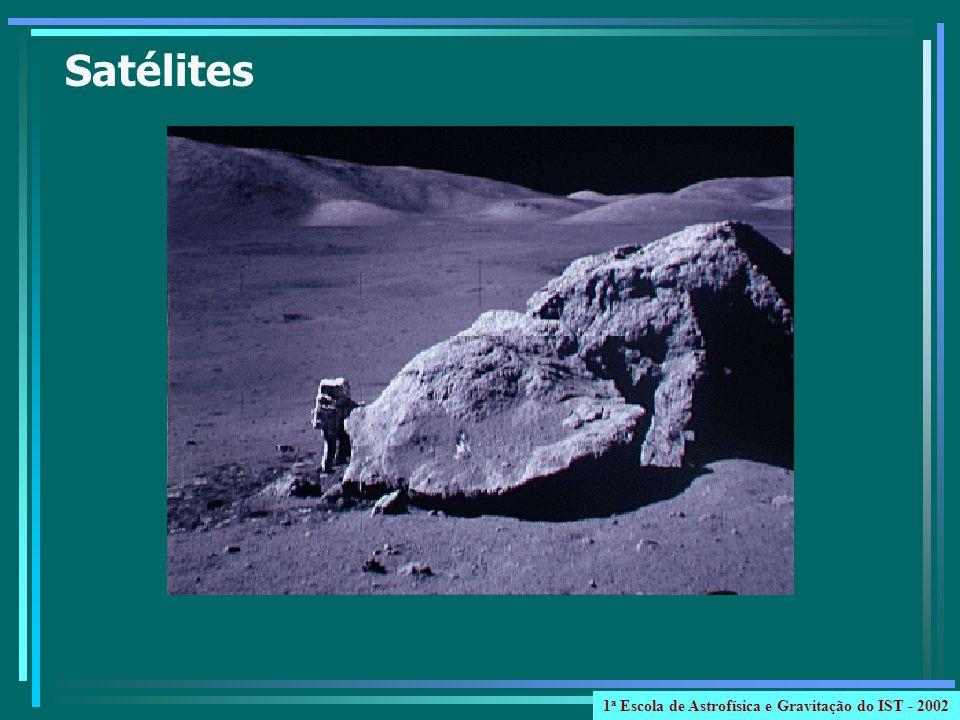 Satélites 1 a Escola de Astrofísica e Gravitação do IST - 2002