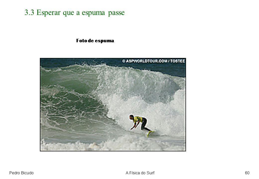 Pedro BicudoA Física do Surf60 3.3 Esperar que a espuma passe Foto de espuma