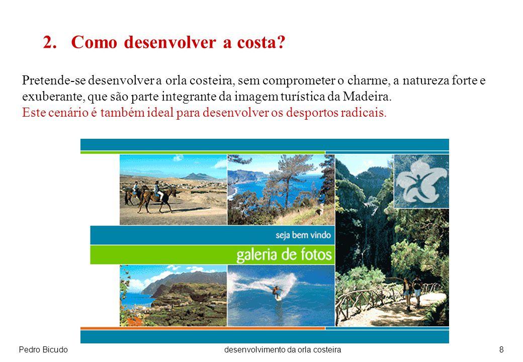 Pedro Bicudodesenvolvimento da orla costeira19 O futuro pertence às populações e aos governantes.