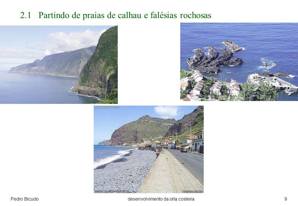 Pedro Bicudodesenvolvimento da orla costeira9 2.1 Partindo de praias de calhau e falésias rochosas