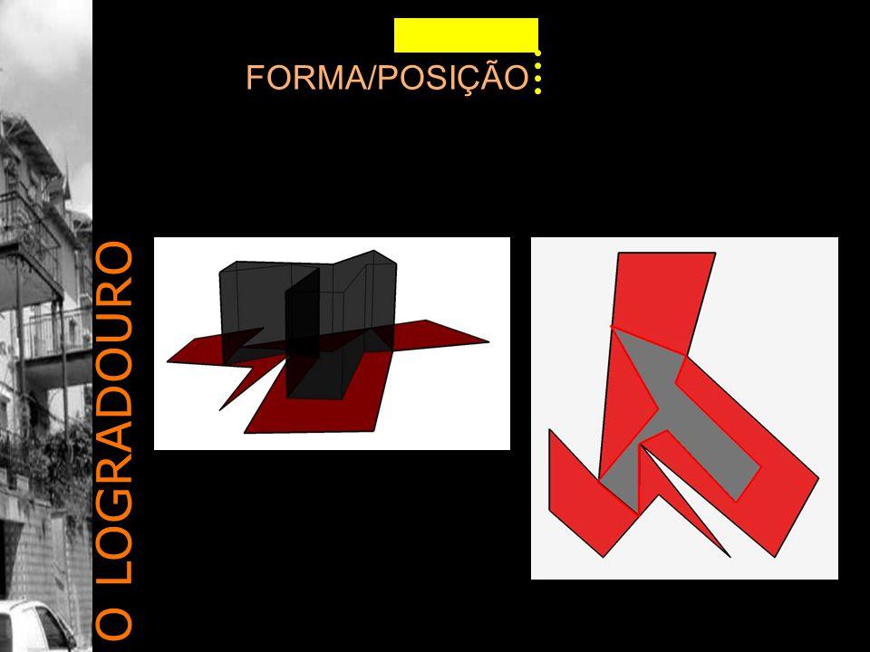 O LOGRADOURO FORMA/POSIÇÃO