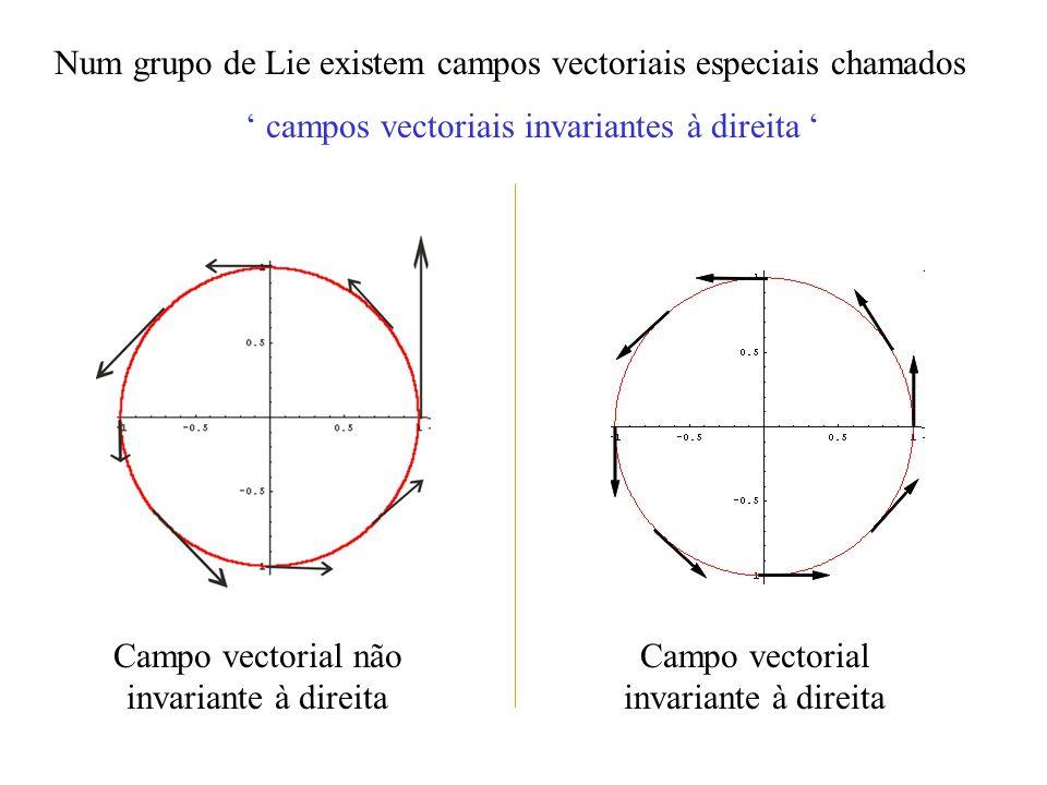 Abstractamente uma Álgebra de Lie é um espaço vectorial juntamente com uma operação bilinear [, ] : chamada parêntesis de Lie, satisfazendo os axiomas: a) Bilinearidade b) Anti-simetria c) Identidade de Jacobi [v, w] = - [w, v] [ cv + cv, w ] = c[v,w] + c[v,w] [u, [v, w]] + [w, [u, v]] + [v, [w, u]] = 0