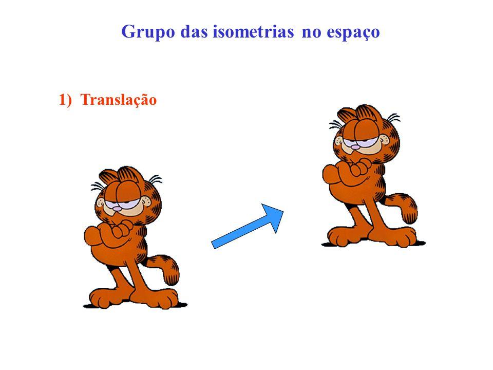 Grupo das isometrias no espaço 1) Translação