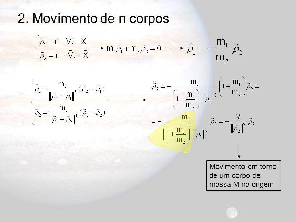 2. Movimento de n corpos