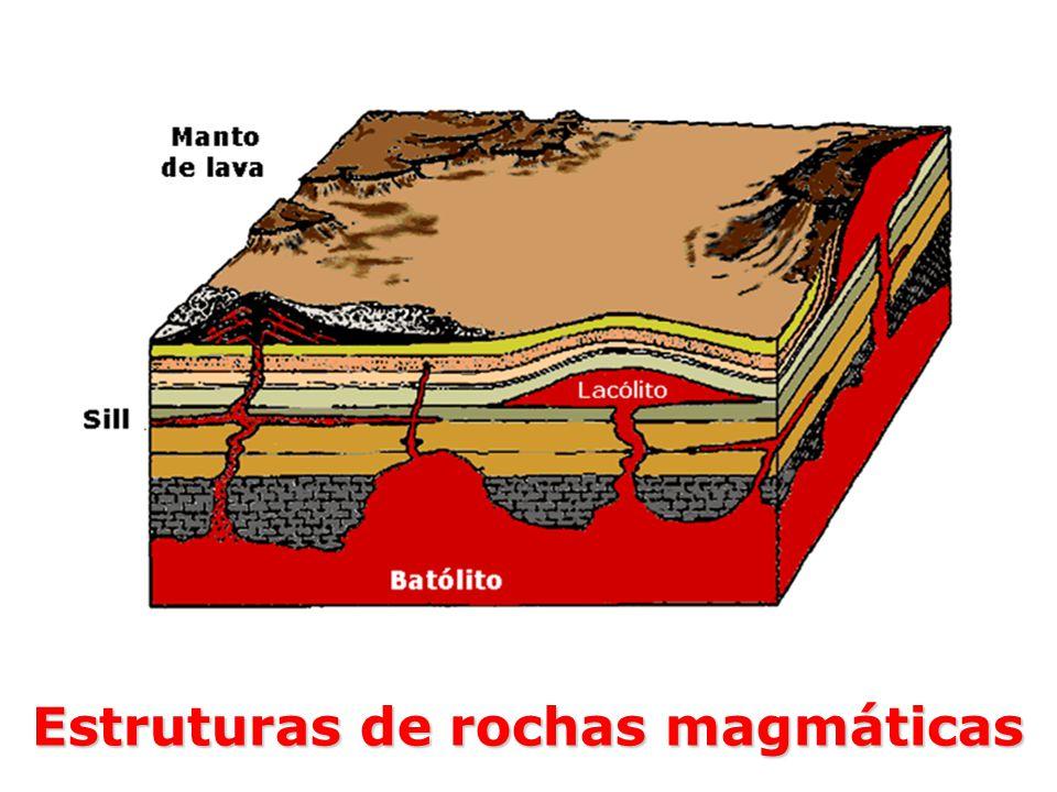 Estruturas de rochas magmáticas