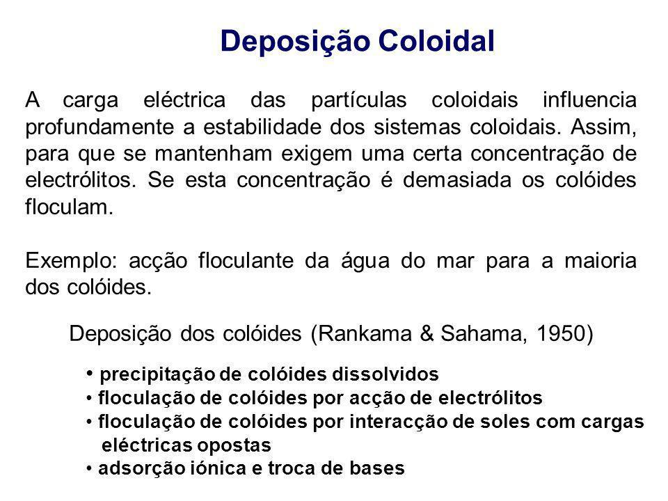 A carga eléctrica das partículas coloidais influencia profundamente a estabilidade dos sistemas coloidais. Assim, para que se mantenham exigem uma cer