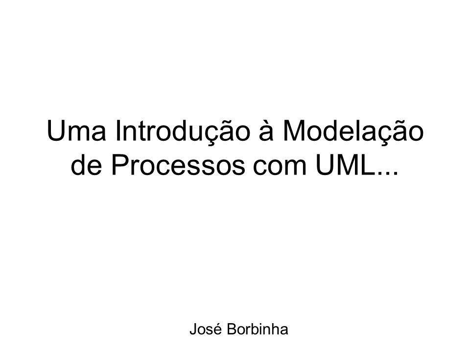 Uma Introdução à Modelação de Processos com UML... José Borbinha