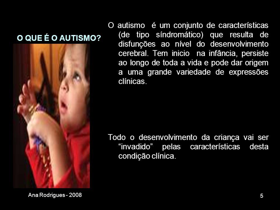 Existem 5 diagnósticos possíveis no grupo das PEA (DSM-IV-TR) Perturbação Autística (algumas vezes designada como Autismo de Kanner, Autismo Clássico, Autismo Infantil ou Autismo Precoce) Perturbação de Rett Perturbação Desintegrativa da 2ª Infância Perturbação ou Síndrome de Asperger Perturbação Global do Desenvolvimento sem outra especificação (com a sigla inglesa de PDD-NOS) e também designada como Autismo de Alto Funcionamento)