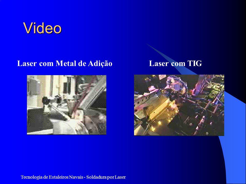 Tecnologia de Estaleiros Navais - Soldadura por Laser Video Laser com Metal de AdiçãoLaser com TIG
