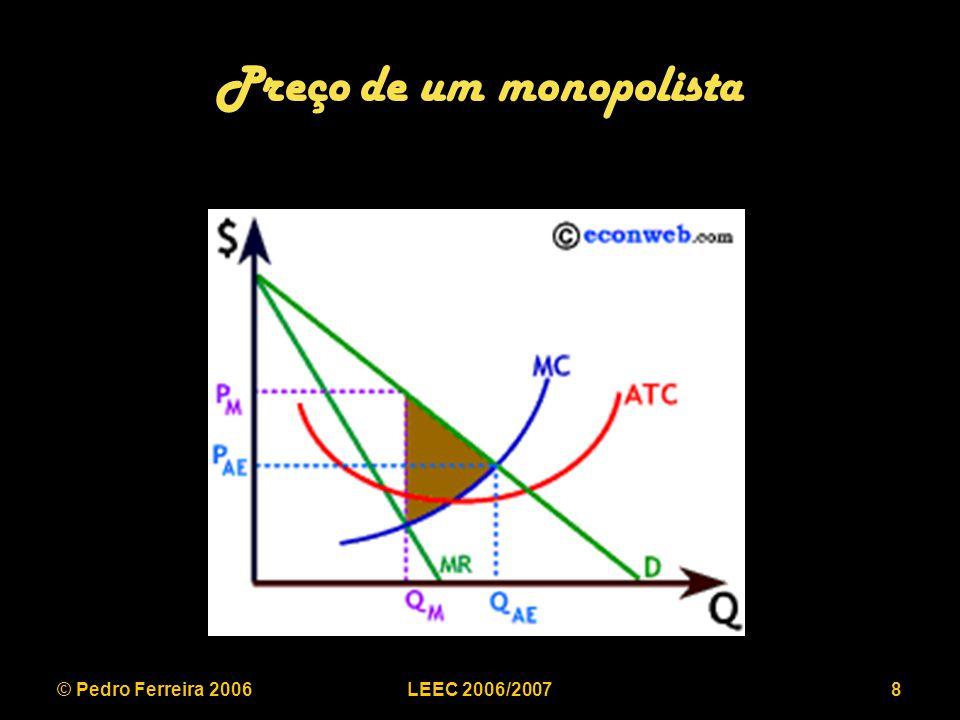 © Pedro Ferreira 2006LEEC 2006/200739 Inovação tecnológica ao nível da capacidade de transporte WILLIAMS CORP.