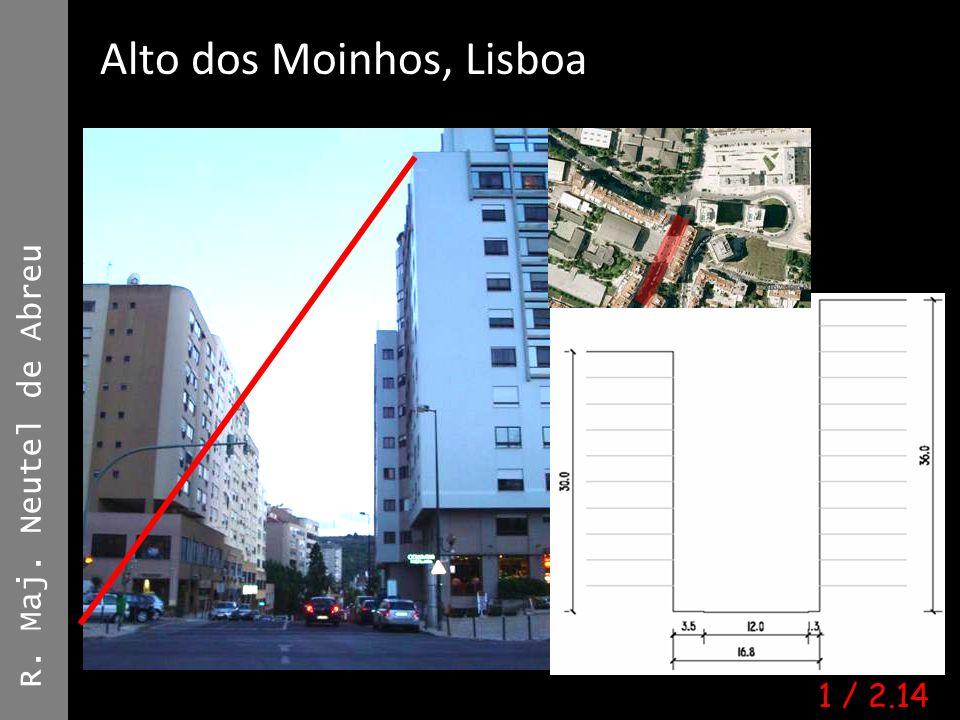 R. Maj. Neutel de Abreu Alto dos Moinhos, Lisboa Ana Mónica Moura | #6753 | A4E 1 / 2.14