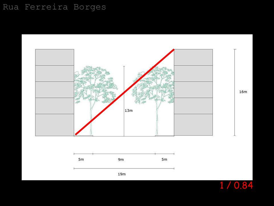 Rua Ferreira Borges 1 / 0.84