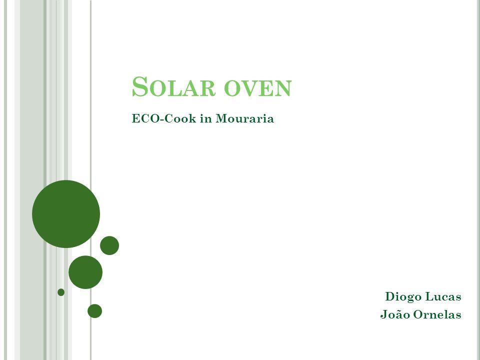 S OLAR OVEN ECO-Cook in Mouraria Diogo Lucas João Ornelas