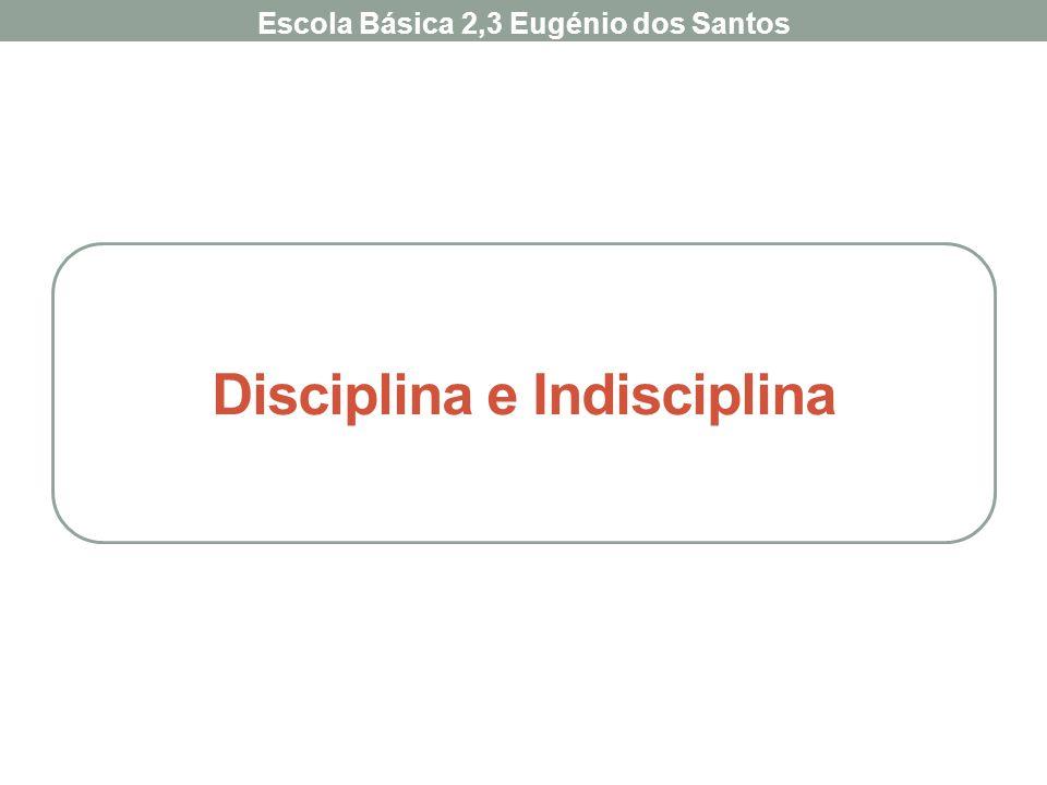 Disciplina e Indisciplina Escola Básica 2,3 Eugénio dos Santos