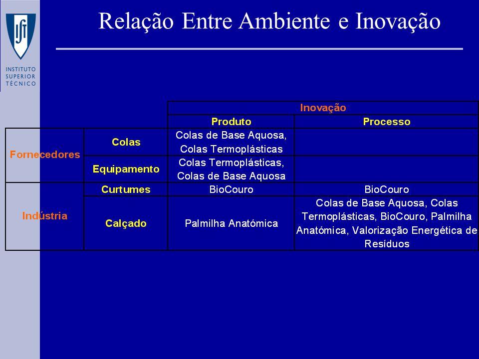 Relação Entre Ambiente e Inovação