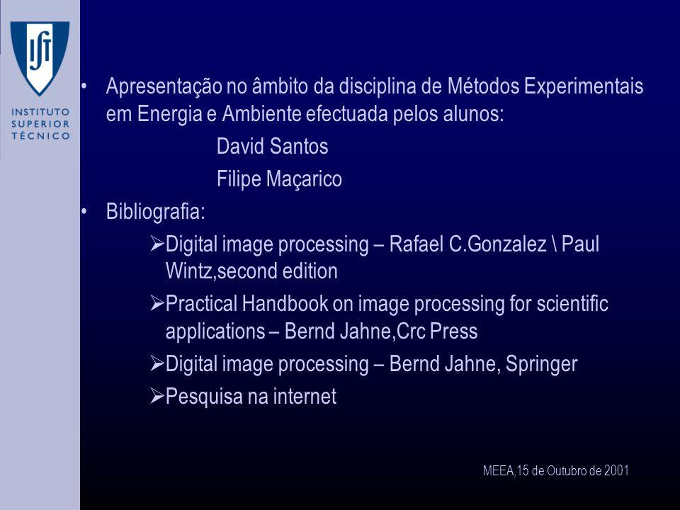 MEEA,15 de Outubro de 2001 A cara de Marte Eliminação do ruído e melhoramento do contraste.