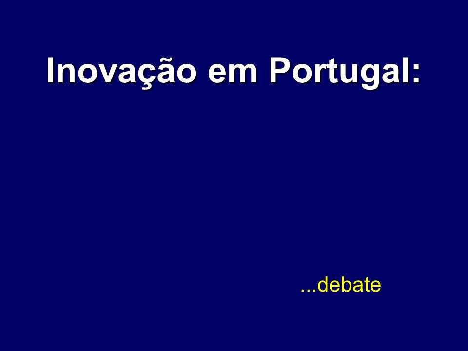 Inovação em Portugal:...debate...debate