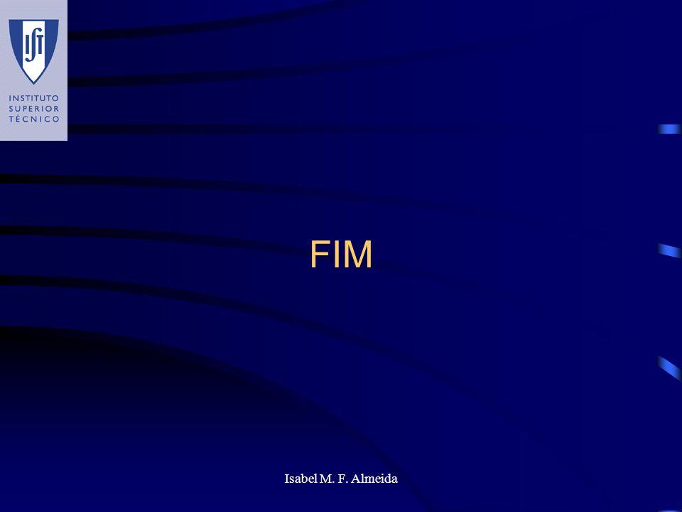 Isabel M. F. Almeida FIM