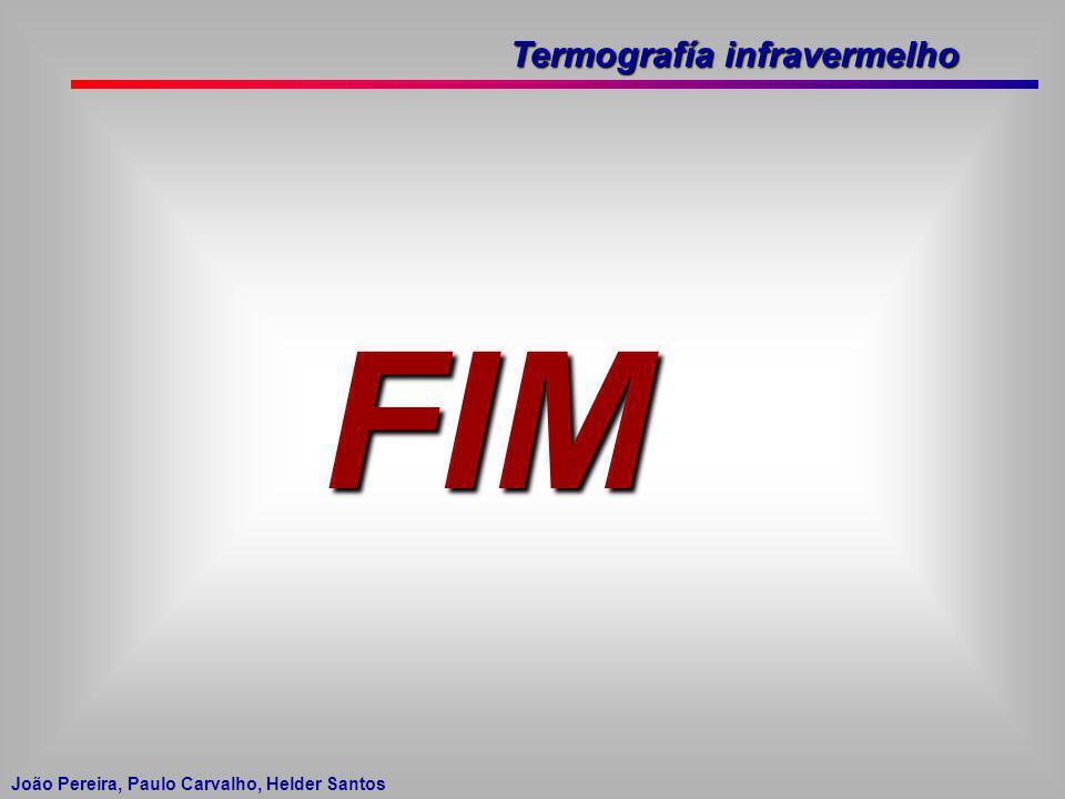 Termografía infravermelho João Pereira, Paulo Carvalho, Helder Santos FIM