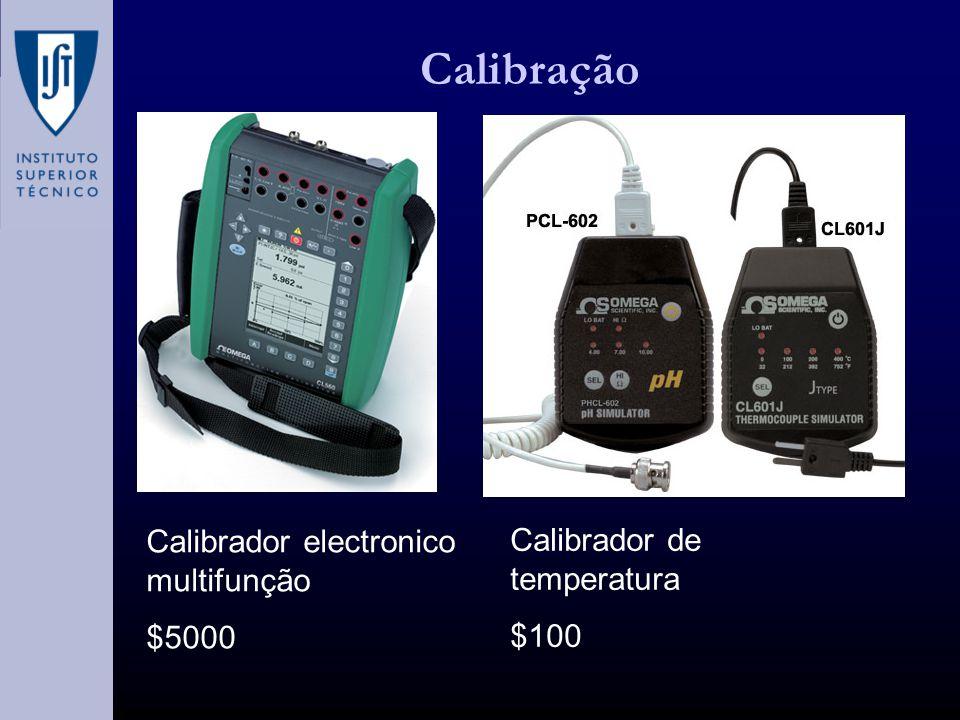 Calibração Calibrador electronico multifunção $5000 Calibrador de temperatura $100