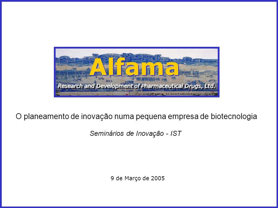 VERTENTES FUNDAMENTAIS 3- Recursos humanos: factores a considerar ALFAMA – research & development of pharmaceutical drugs, Ltd.