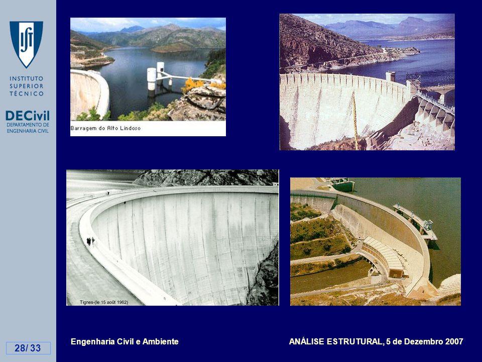 Engenharia Civil e Ambiente ANÁLISE ESTRUTURAL, 5 de Dezembro 2007 28/ 33