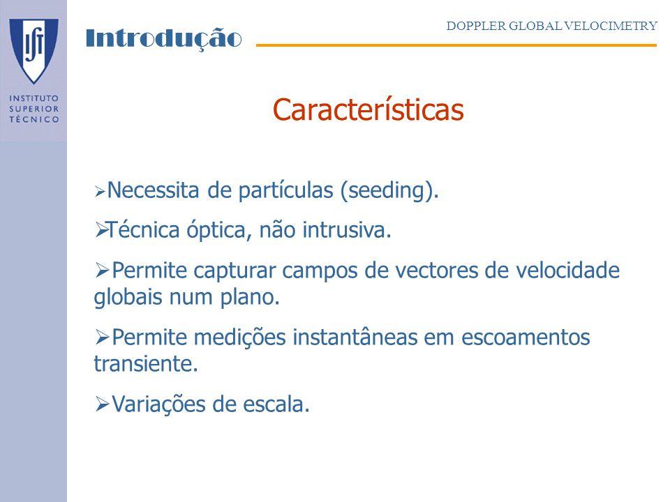 Metodologia DOPPLER GLOBAL VELOCIMETRY Sistemas DGV